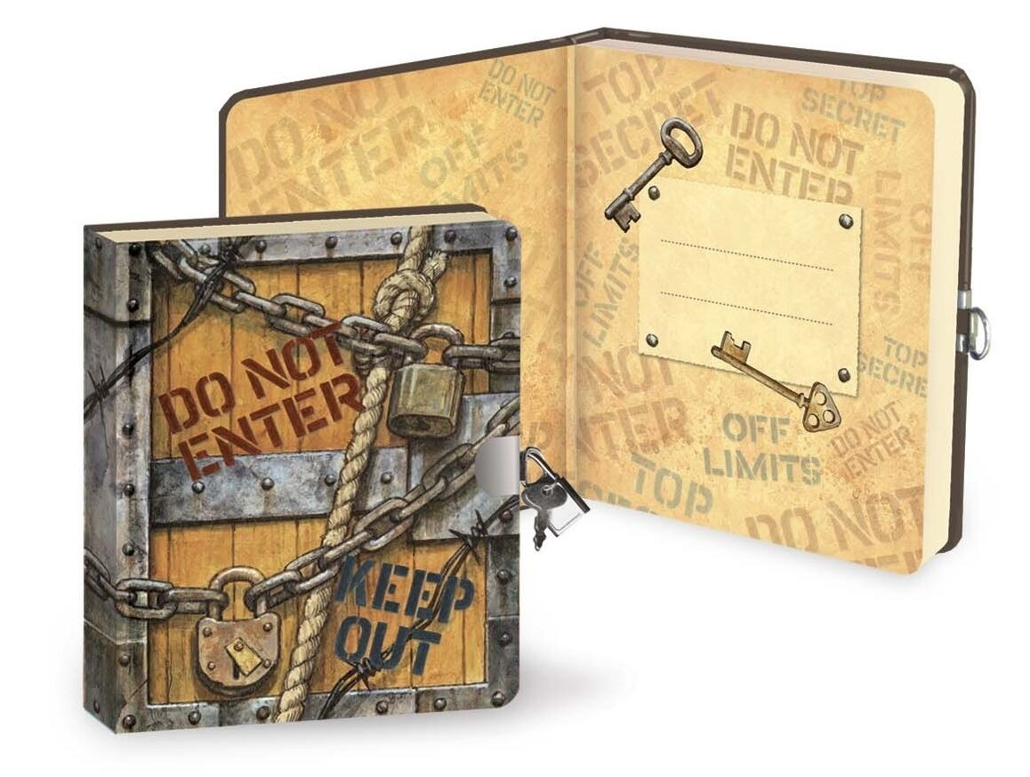 Top Secret Lock & Key Diary