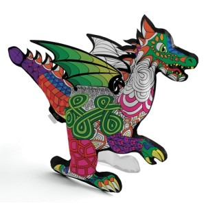 3D Colorables - Dragon