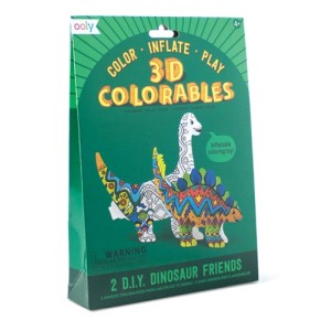 3D Colorables - 2 Dinosaurs