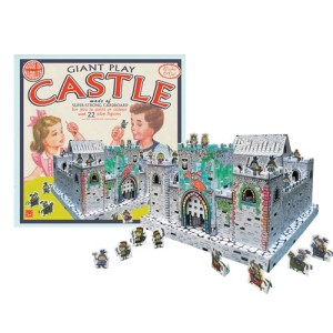 Giant Play Castle - Construct, Paint & Play
