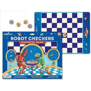 Robot Checkers, Magnetic Game