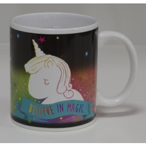 Unicorn Heat Colour Changing Mug