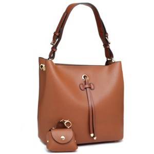 Bessie London Shoulder Bag in Brown