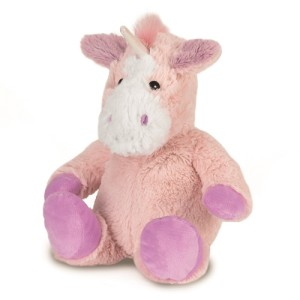 Warmies® Microwavable Heatable Lavender Cozy Plush Pink Unicorn