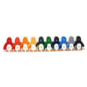 Penguin Number Row 1-10