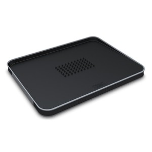 Cut & Carve Plus Chopping Board Black