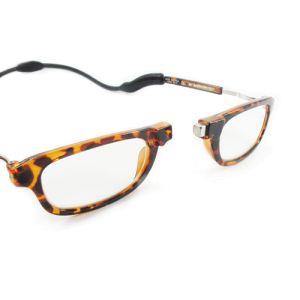 Loopies Unisex Tortoiseshell Magnetic Reading Glasses