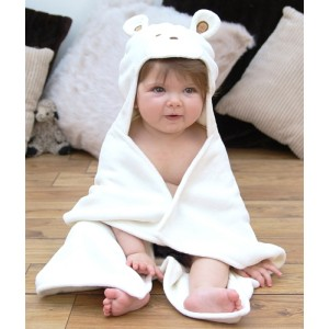 Teddy Baby Bath Towel with Hood