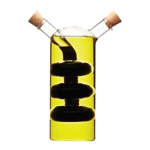 World of Flavours 2-in-1 Oil and Vinegar Bottle - Cascade