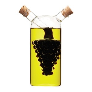 World of Flavours 2-in-1 Oil and Vinegar Bottle - Grape