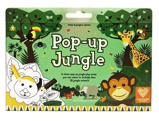 Pop Up Jungle Colour In Play Scene