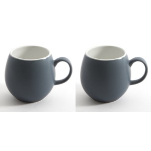 Slate Blue London Pottery Pebble Mugs Set of 2