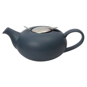 Filter Pebble Teapot Slate Blue 2 Cups