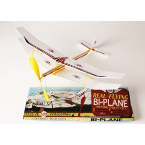 Construct your Own REAL FLYING Bi Plane Kit