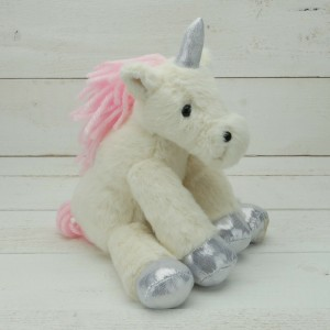 Sitting Unicorn Soft Toy by Jomanda