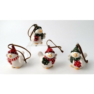 Ceramic Bird Christmas Tree Decoration