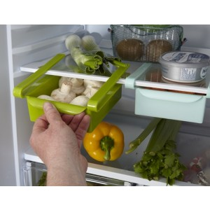 Slide and Store Fridge Space Saving Container
