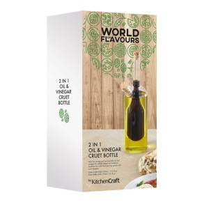 World of Flavours 2-in-1 Oil and Vinegar Bottle - Traditional