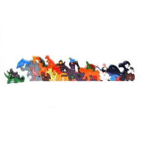 Zoo Animal Wooden Alphabet Jigsaw