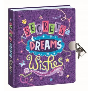 Secrets, Dreams, Wishes Glow-in-the-Dark Diary